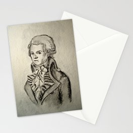 French Sketch I Stationery Cards