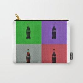 Vintage Soda Bottle Pop Art by Jéanpaul Ferro Carry-All Pouch