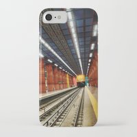 subway iPhone & iPod Cases featuring Subway by Diana Cretu