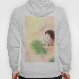 The Girl Who Wrote Stories Hoody