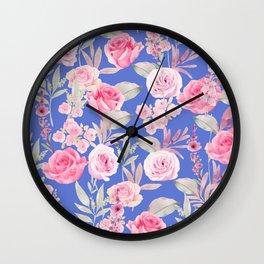 Laila Pattern 2. Wall Clock