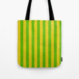 Stripes Collection: Irish Morning Tote Bag