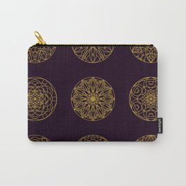 Sacred geometry Mandala seamless pattern 14 Carry-All Pouch