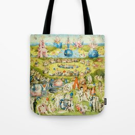 The Garden of Earthly Delights by Bosch Tote Bag