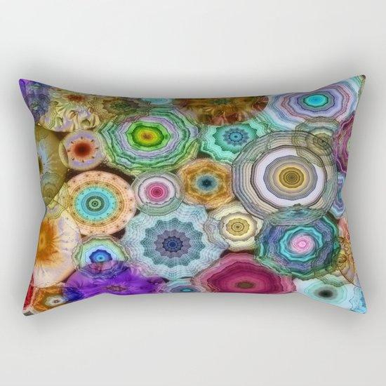 Flowery Meadow 3 Rectangular Pillow