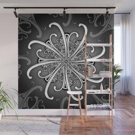 Mandala Star Wall Mural