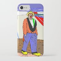 clown iPhone & iPod Cases featuring clown by Karl-Heinz Lüpke