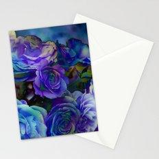 Midnight Rose Stationery Cards