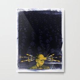 SHOCK VISOR Metal Print