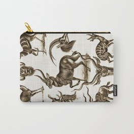 Ernst Haeckel Antilopina Antelope Carry-All Pouch