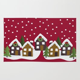 Winter idyll Rug