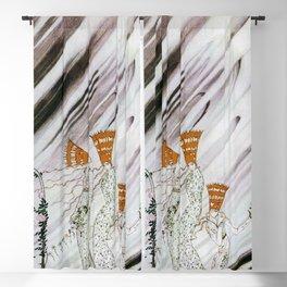 12,000pixel-500dpi - Kay Nielsen - Three Princesses Amazed By Snowstorm Blackout Curtain