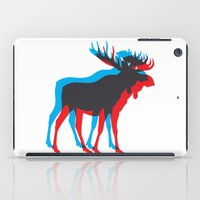 moose iPad Cases featuring Moose by BMaw