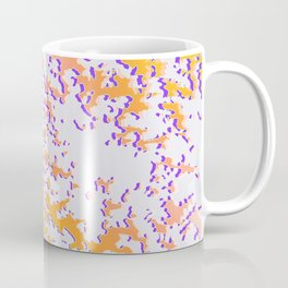camouflage texture in yellow Coffee Mug
