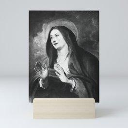 Anthony van Dyck - Mary as Mater Dei Mini Art Print