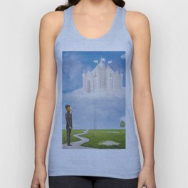 Looking to the Future  Unisex Tank Top