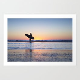 Surfs Up... Brah Art Print