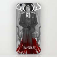 hannibal iPhone & iPod Skins featuring Hannibal by Sheryn Ng (rynisyou)