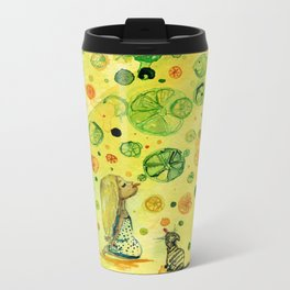 Vitamins Metal Travel Mug
