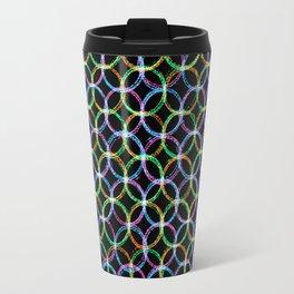 Circles of colours Travel Mug