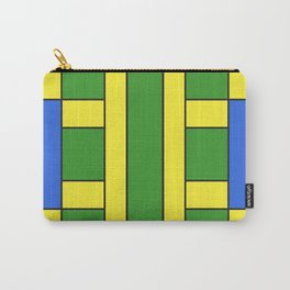 They were all yellow... blue and green Carry-All Pouch