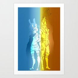 Fiona & Flame Prince Art Print