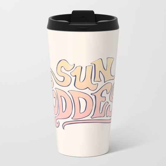 SUN GODDESS Metal Travel Mug