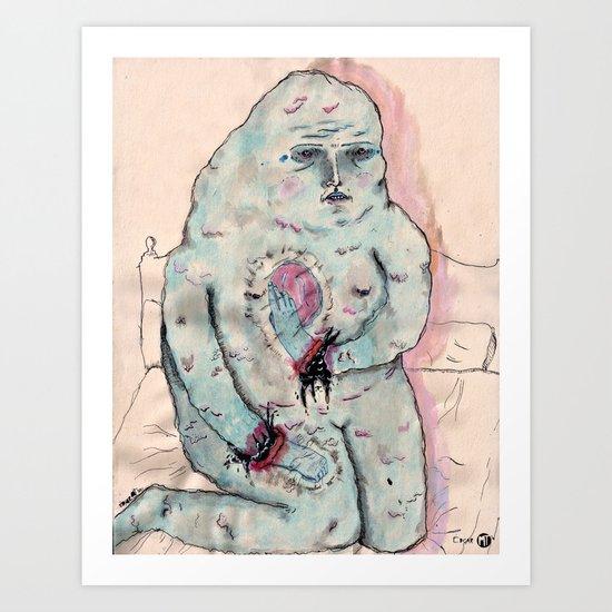 Vaciar Art Print
