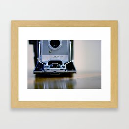 Polaroid Land Framed Art Print