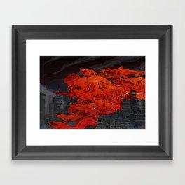 Bottom Feeders Framed Art Print