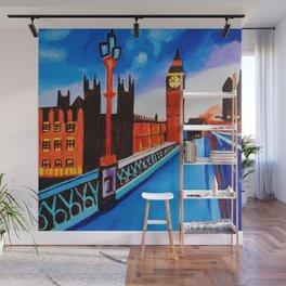 London At Night Wall Mural