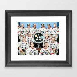 Moonwalkers Framed Art Print