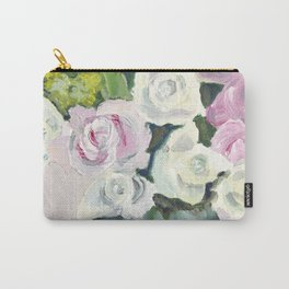 Sugar Love Flowers Carry-All Pouch