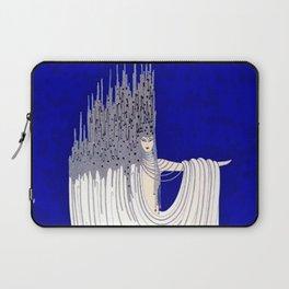 """North Sea"" Art Deco Design Laptop Sleeve"