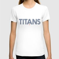 teen titans T-shirts featuring Vintage Titans by mrTidwell