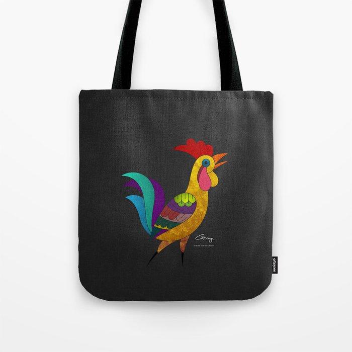 Cock_Armenia Tote Bag
