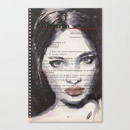 Lyudmila Canvas Print