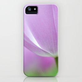 Airy Purple. Tulips of Keukenhof iPhone Case