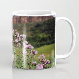 Finding Floral Friends at Arthur's Seat in Edinburgh, Scotland Coffee Mug