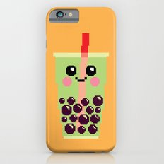 Happy Pixel Bubble Tea Slim Case iPhone 6s
