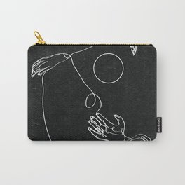 Les Vagues Carry-All Pouch
