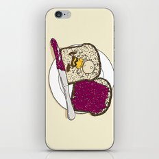 Peanut butter & Jelly iPhone & iPod Skin