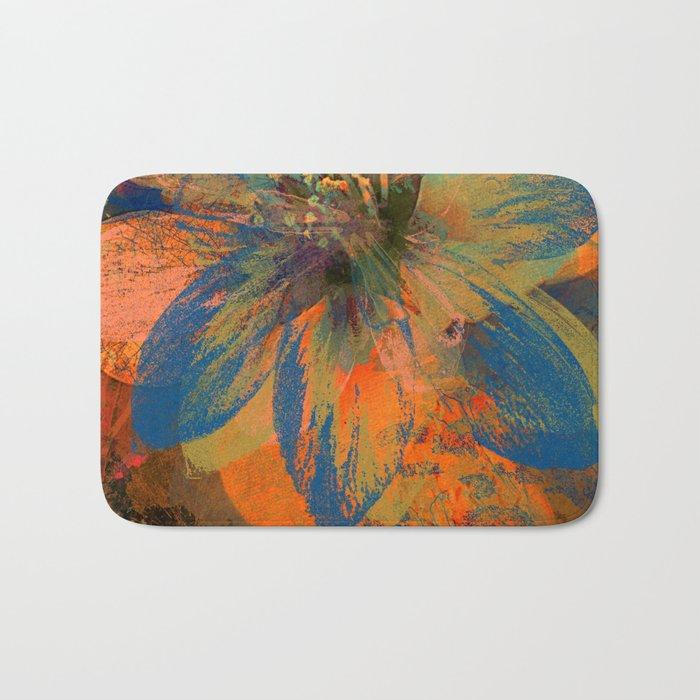 Floral abstract(43) Bath Mat