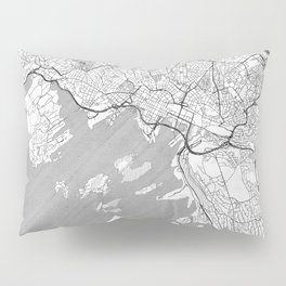 Oslo Map Line Pillow Sham