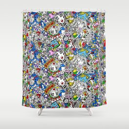 Bouncy Soul Shower Curtain