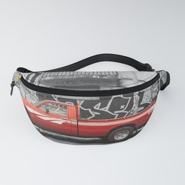 """""""Red truck series: red alert"""" Fanny Pack"""