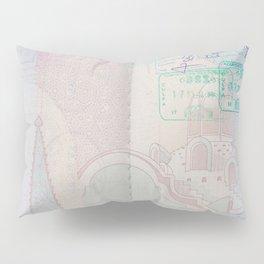 Passport Pillow Sham