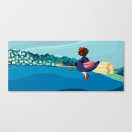 delivery! Canvas Print