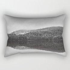 Reveil dans la brume Rectangular Pillow