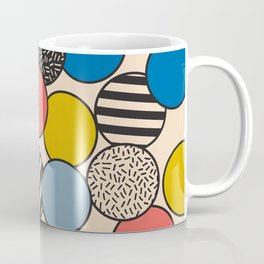 Memphis Inspired Pattern 5 Coffee Mug